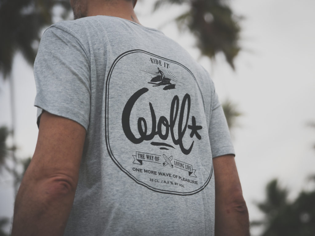 T-shirt WOLL Beer