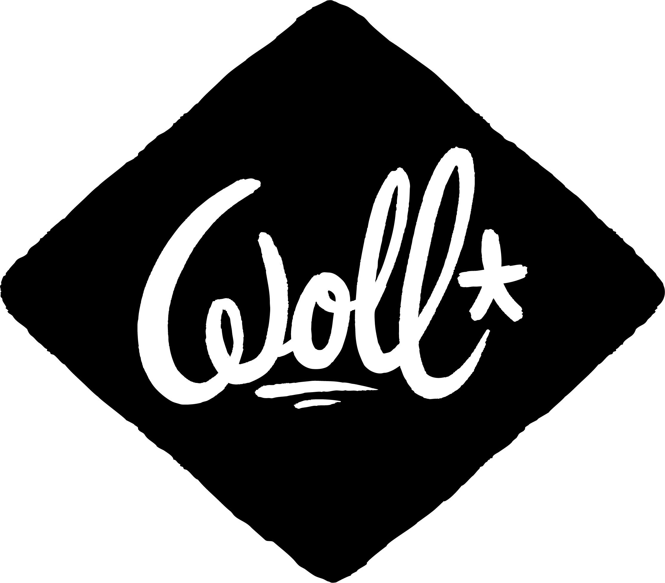 Logo WOLL Beer Losange noir